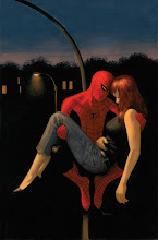 Photo: AMAZING SPIDER-MAN #640 COVER. 2010. Gouache and acrylic on bristol board, 11 × 17″.