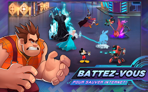 Disney Heroes: Battle Mode fond d'écran 1