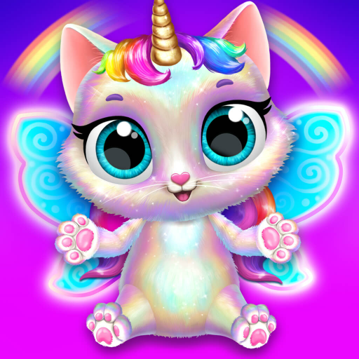 Twinkle  Unicorn Cat Princess