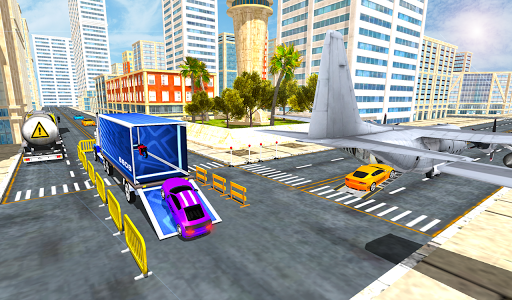 Airplane Car Transport Simulator Drive 1.0 screenshots 4