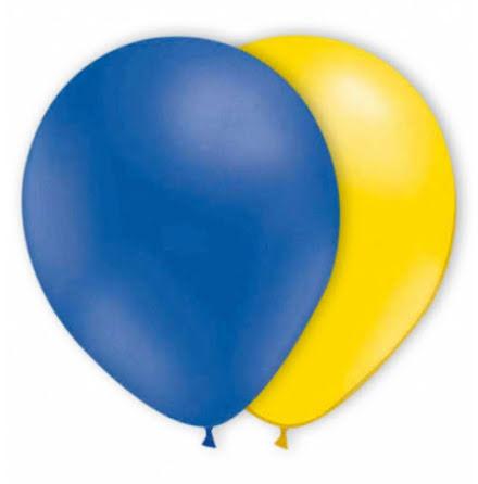 Ballonger - Gula & Blå