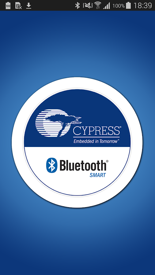 Cypress® BLE-Beacon™- screenshot