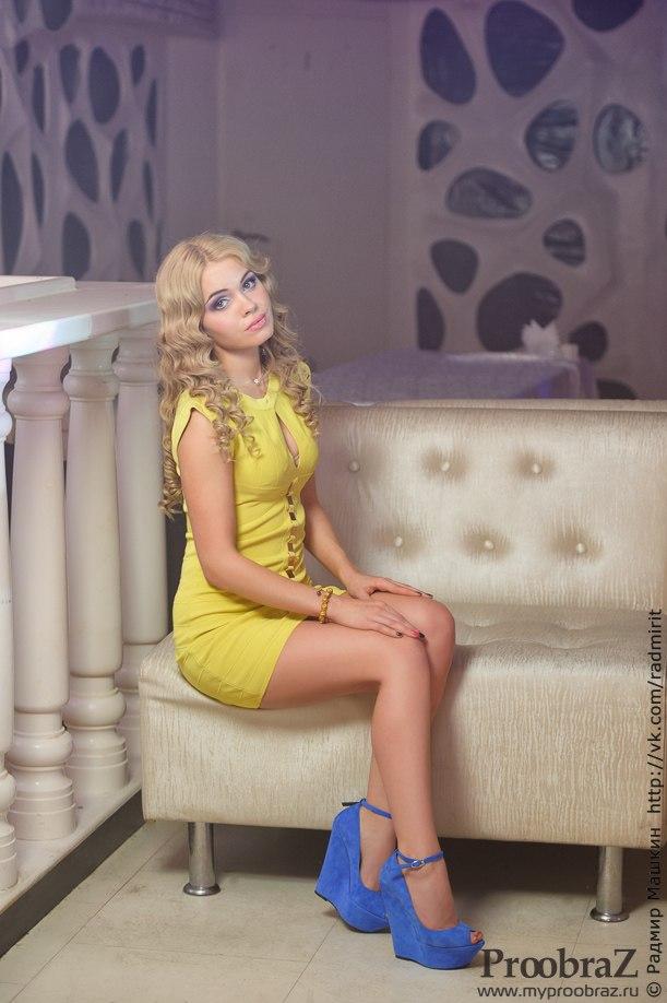 Алена Курапова-Яналиева в Уфе