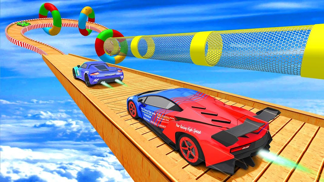 Ramp Car Stunt 3D : Impossible Track Racing 2