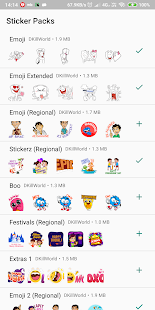 Ultimate Stickers for WhatsApp : WAStickerApps Screenshot