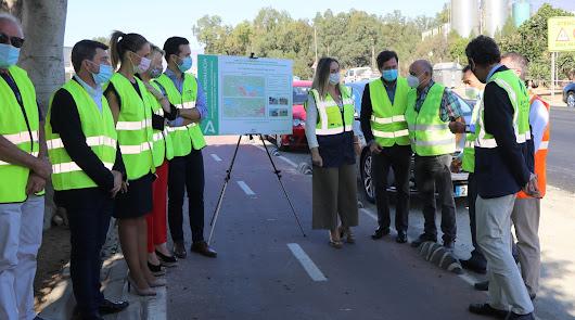 La carretera de Pampanico estará en obras antes de que acabe el año