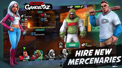 Downtown Gangstaz - Hood Wars android2mod screenshots 5