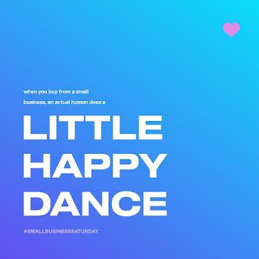Little Happy Dance - Instagram Post template