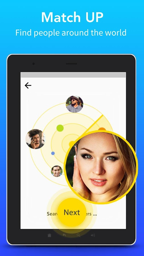 Live Chat - Meet new people via free video chat- screenshot