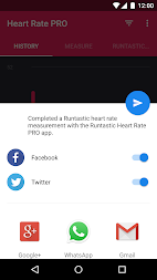 Runtastic Heart Rate PRO APK screenshot thumbnail 4