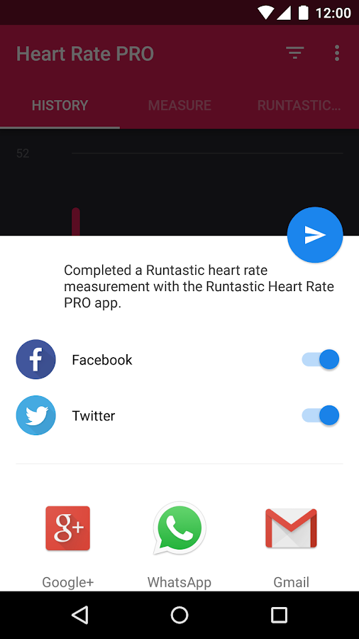 Runtastic Heart Rate PRO- screenshot