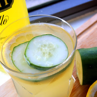 Limoncello Coconut Water Cocktail.