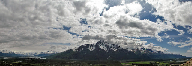 Photo: Panorama: Pioneer Peak
