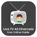 Live TV All Channels Free Online Guide icon