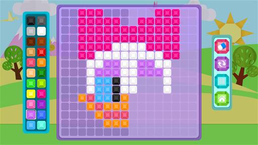Mirror Mosaic : Symmetry Puzzles apkpoly screenshots 6