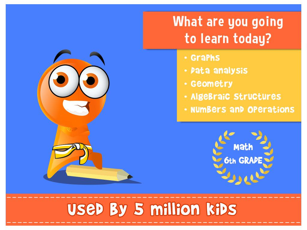 iTooch 6th Grade Math - Android Apps on Google Play