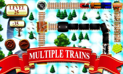 Train Track Maze  gameplay | by HackJr.Pw 4