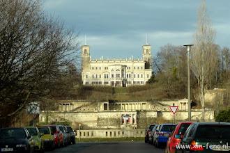 Photo: Dresden, één van de drie kastelen aan de overkant van de Elbe