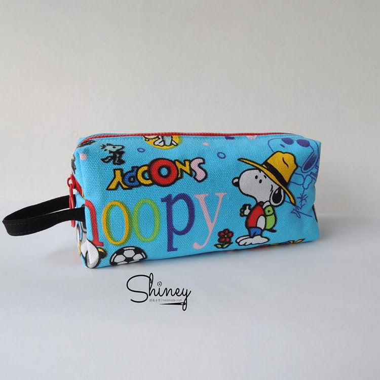 Handmade Classic Pencil Pouch [Snoopy] by Shiney Craft & Zakka 诗绫手作
