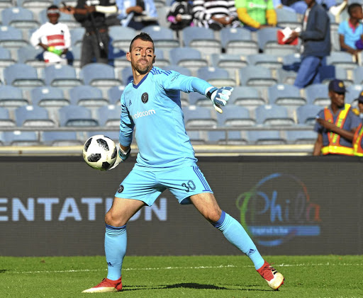 Wayne Sandilands of Orlando Pirates.