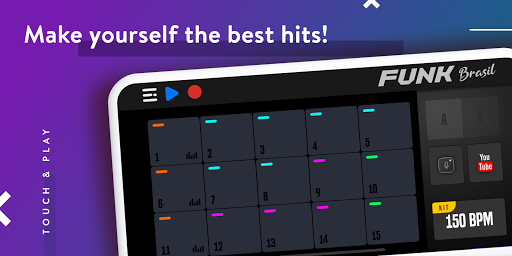 FUNK BRASIL: Become a DJ of Drum Pads screenshot 3