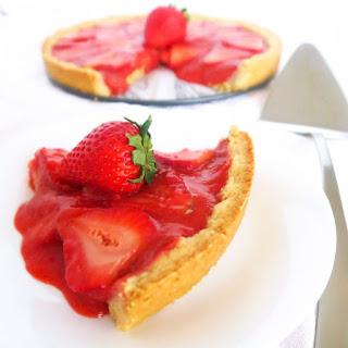 Strawberry Tart (Paleo, Low Carb)