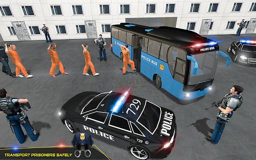 US Police Bus Transport Prison Break Survival Game 4.0 screenshots 7