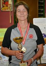 Photo: Senioren Einzel Damen – 1. Platz Chris Eybl