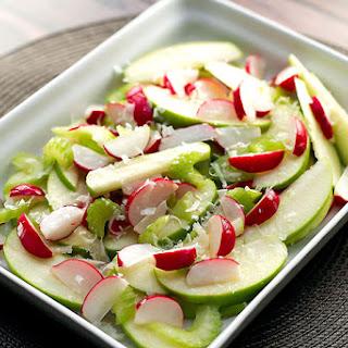 Radish and Green Apple Salad