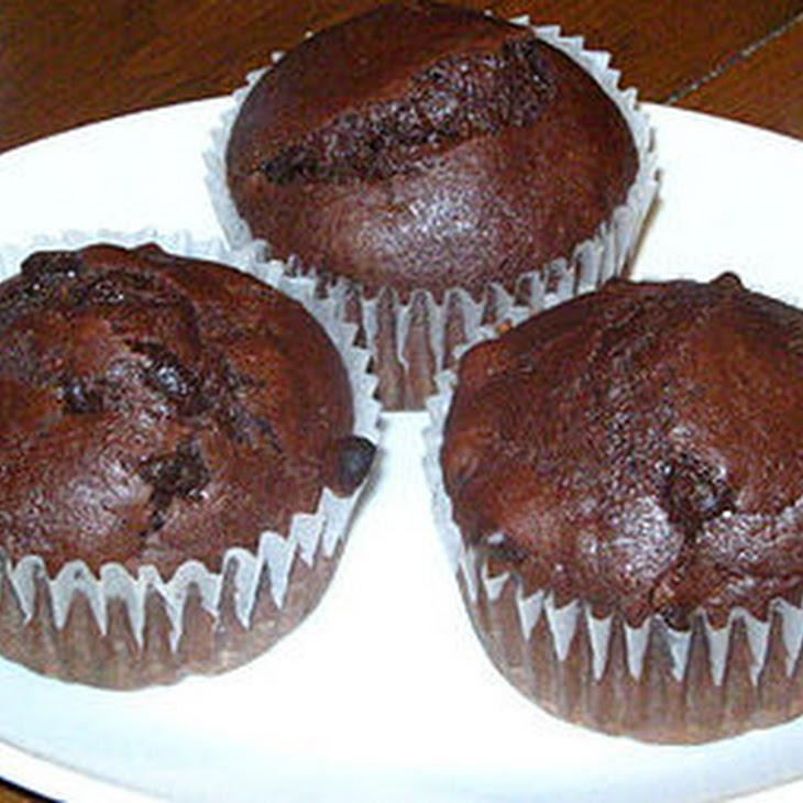 Chocolate Pumpkin Muffins Recipe