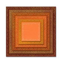 Tim Holtz Sizzix Thinlits Die Set 6/Pkg - Stitched Squares