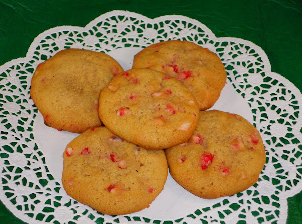 White Chocolate Peppermint Crunch Cookies Recipe