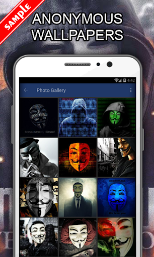 Anonymous Wallpapers  screenshots 1