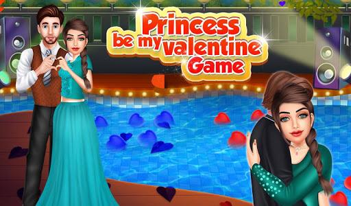 Princess Be My Valentine Game apkmr screenshots 1
