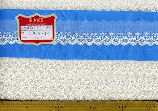 Photo: №340345-30チュールレースオフ:巾40㎜