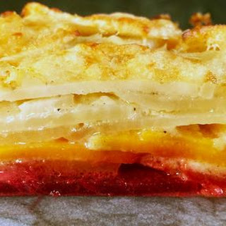 Ombre Potato and Root Vegetable Gratin Recipe