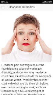 Headache Remedies - Prevent Migraine tips - náhled