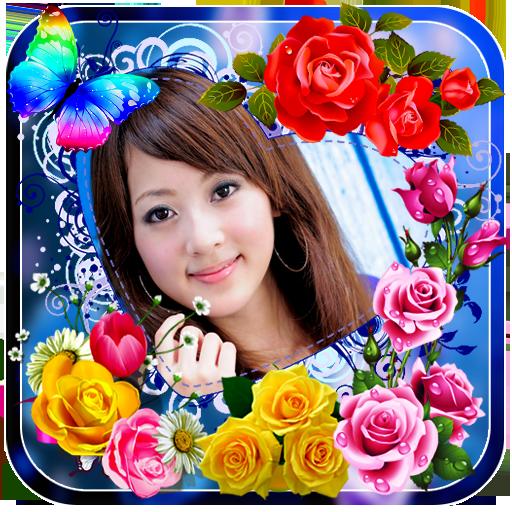 Rose Flower Photo Frames - Apps on Google Play