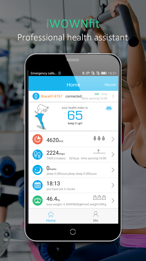 iWOWNfit- screenshot