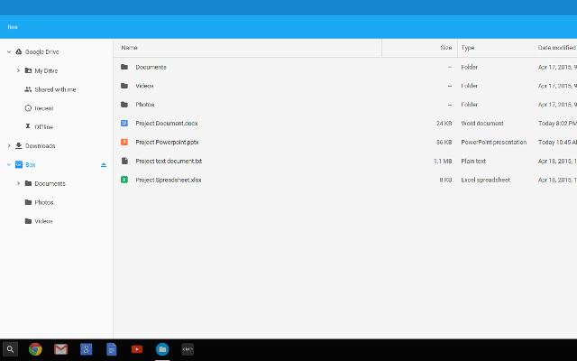 Box for Chrome OS Beta