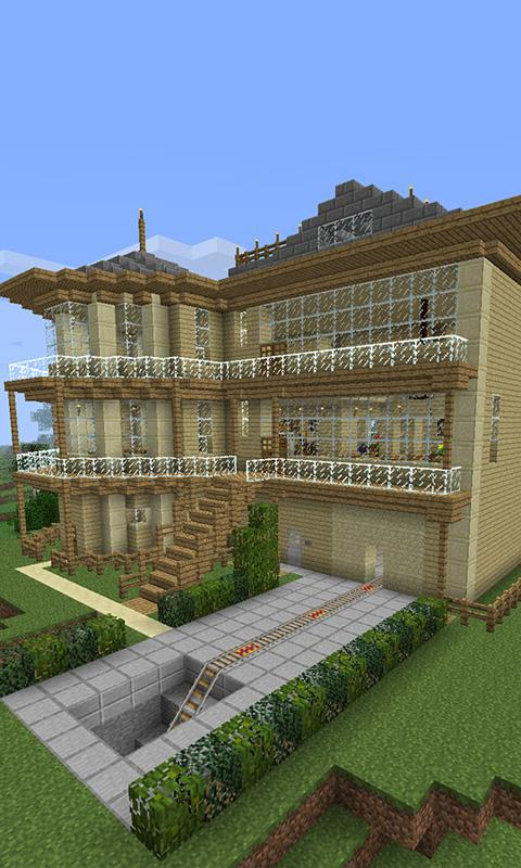 Cool house minecraft building android apps on google play - Cool home builders designs ...