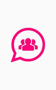 Social group links - náhled