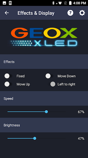 Geox XLED for PC
