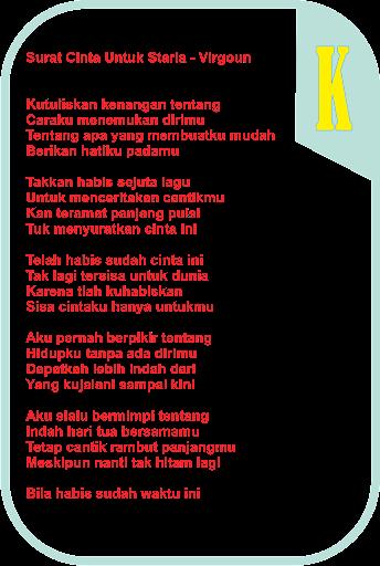 Download Lagu Surat Cinta Untuk Starla Lirik : download, surat, cinta, untuk, starla, lirik, Download, Virgoun, Surat, Cinta, Untuk, Starla, Tanpa, Puisi