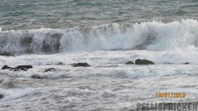 Photo: Lördagen låg vi stilla för då stormade det och regnade emellanåt.