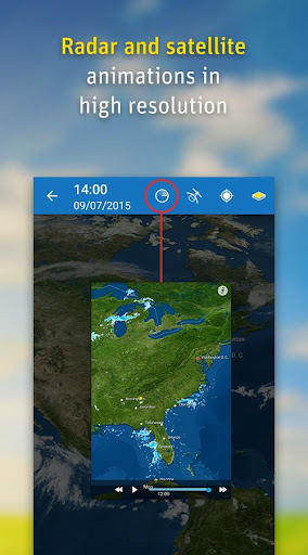 WeatherPro Free screenshot 2