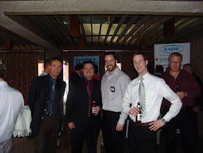 Photo: Chris Healey, Stephen Lynch, Andrew Douma, Peter Shaw-Wood