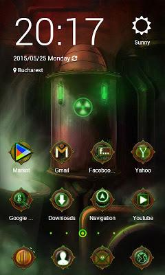 Nuclear ZERO Launcher - screenshot