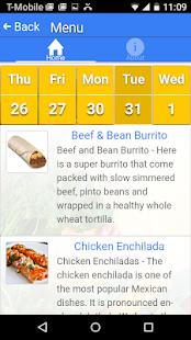 Web Menus for School Nutrition- screenshot thumbnail