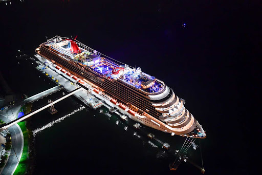 Board Carnival Panorama for the sunny shores or Mexico and exciting warm tropical nights on ship.